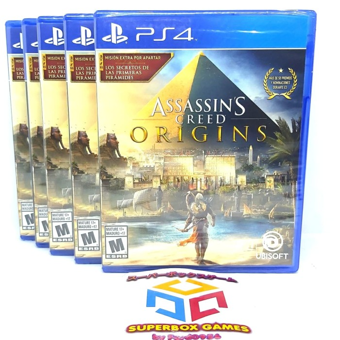 Jual Ps4 Assassins Creed Origins Assassin S Creed Ps 4 Kota Bandung Ferd0956 Tokopedia