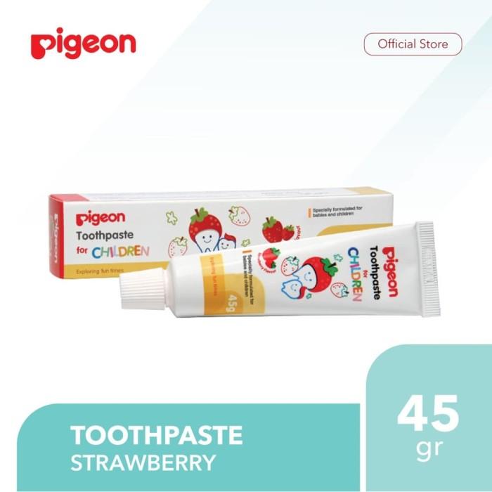 Pigeon Toothpaste 45Gr Strawberry