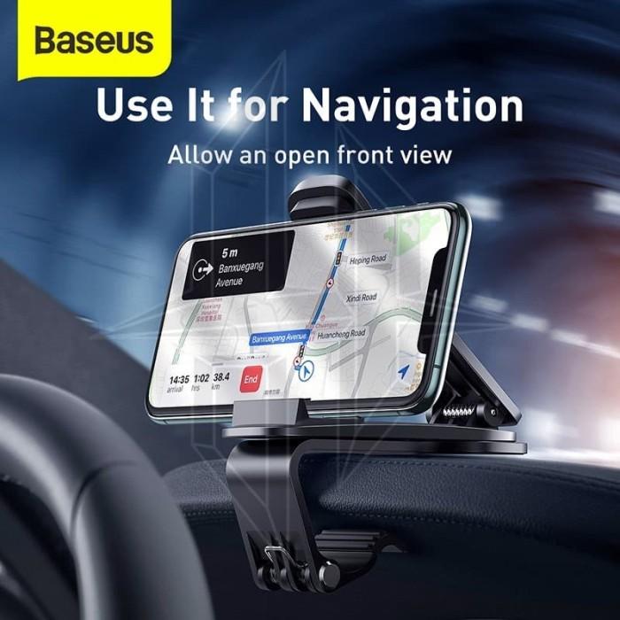Foto Produk BASEUS Mouth Car Mount Phone Holder Dashboard Mobil Universal dari HimTech