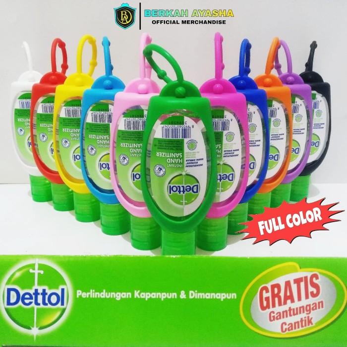 Foto Produk Dettol Hand Sanitizer Antiseptik 50ml Detol Gantungan - Biru Muda dari Berkah Ayasha