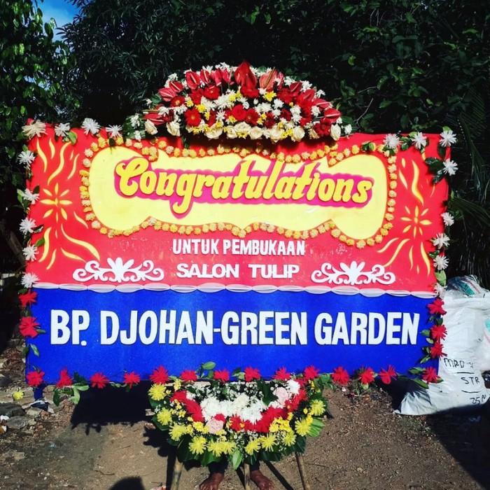 Jual Karangan Bunga Ucapan Grand Opening Papan Bunga Bunga Papan Jakarta Barat Raja Swalayan Tokopedia