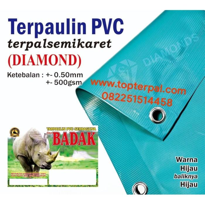 Foto Produk Terpaulin PVC Semi Karet DIAMOND - Terpal Paling Tebal - Ukuran Custom dari Top Terpal Surabaya