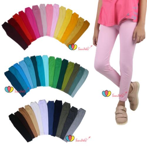 Foto Produk Legging Joya Size 7-8 Tahun / PREMIUAM Tebal Anak Perempuan Polos dari Kios Balita Fawa
