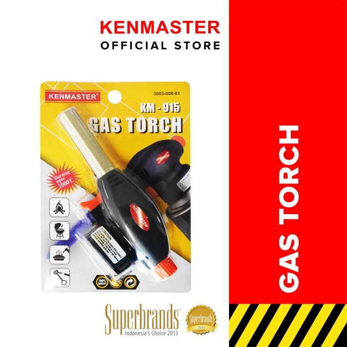 Foto Produk Kenmaster Gas Torch KM-915 Blister - Alat Bakar Korek Api Las Auto dari Kenmaster Official