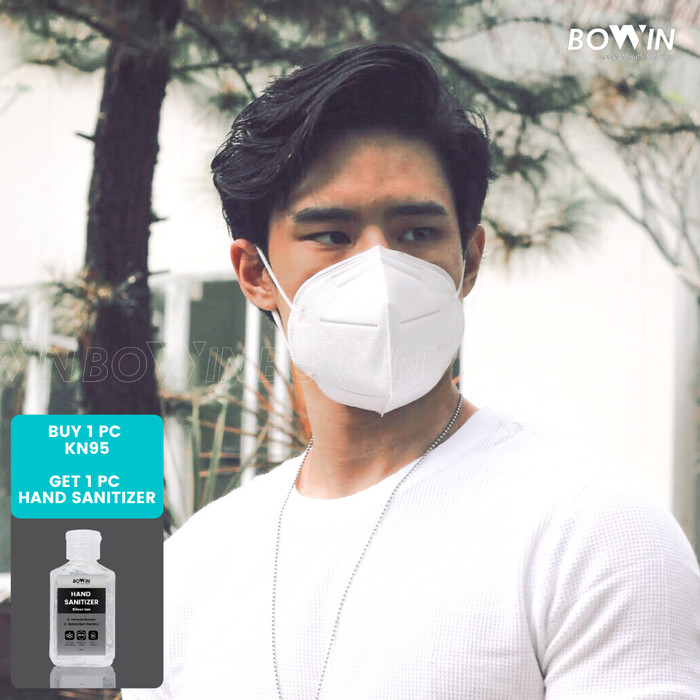 Foto Produk Bowin Masker KN95 (NON CV) - Masker Medis / Masker Bakteri / Polusi dari Bowin Indonesia