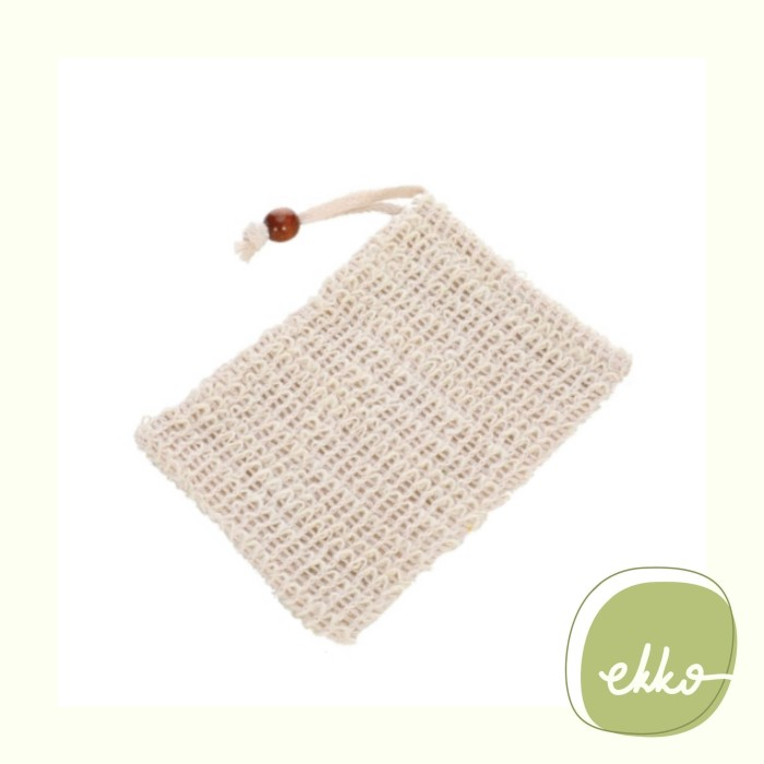 Foto Produk Soap Bag / Soap Foaming Bag / Bar Soap Saver Pouch / Exfoliating Bag dari Ekko Store