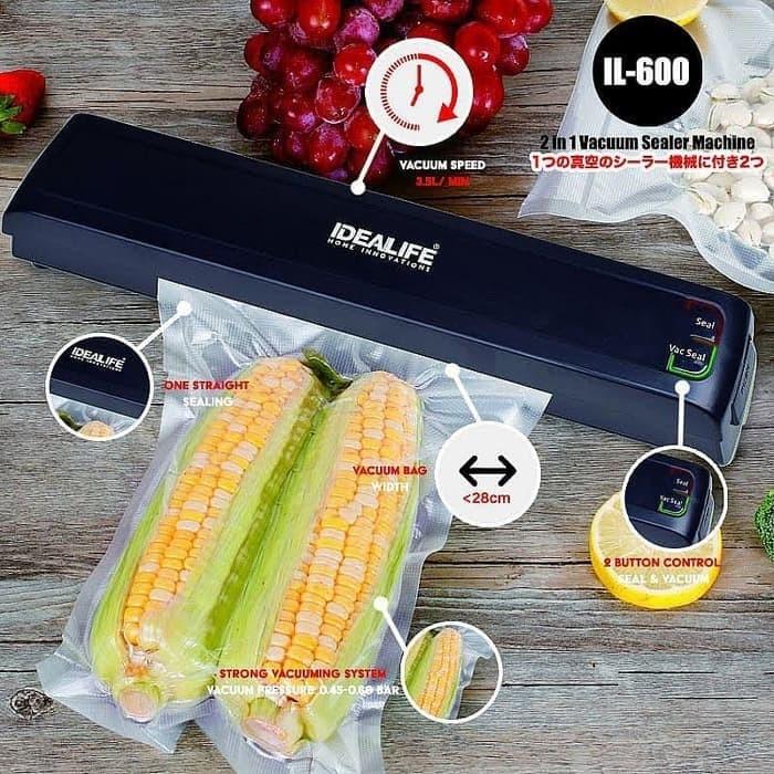 Foto Produk Vacuum Sealer Idealife / Pengemas Makanan Idealife IL 600 dari Vintaco