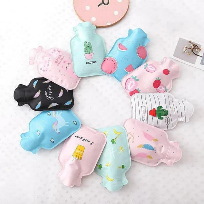 Foto Produk Kantung Kompres Air Panas Hangat Dingin/ Hand Warmer Bottle Warna - Mini dari Dedhi Babyshop