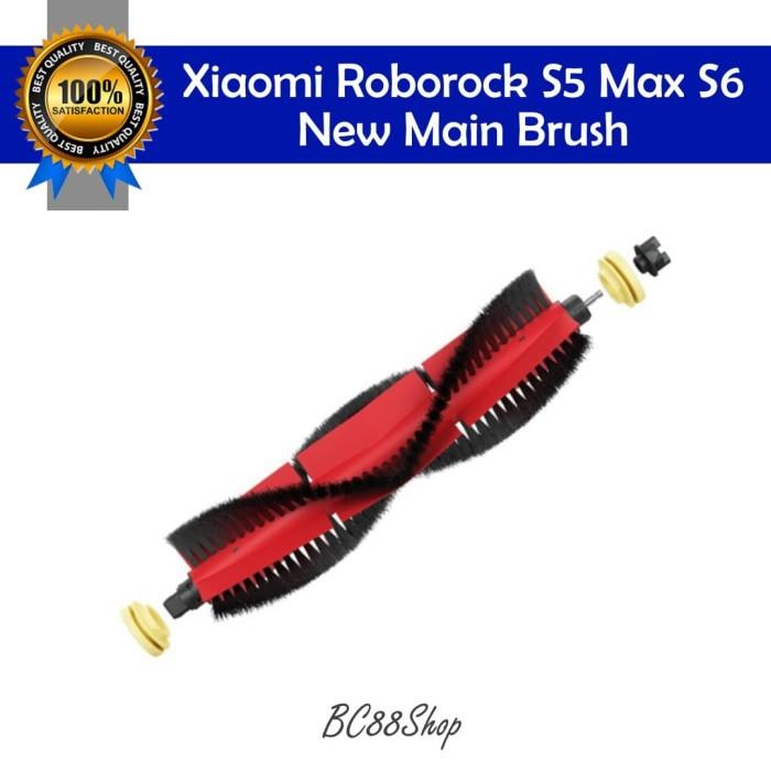 Foto Produk Xiaomi Roborock S5 Max S6 New Main Brush (sparepart) dari BC88Shop