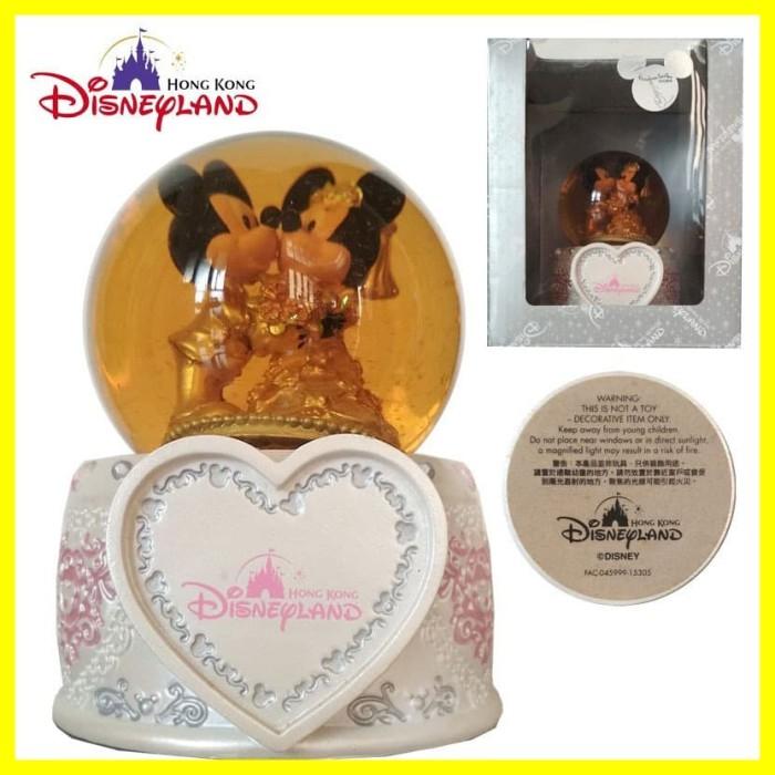 Foto Produk Mainan Dekorasi Snow Globe Ball Bola Kaca Disney Disneyland Hongkong dari Iyesh Online Store