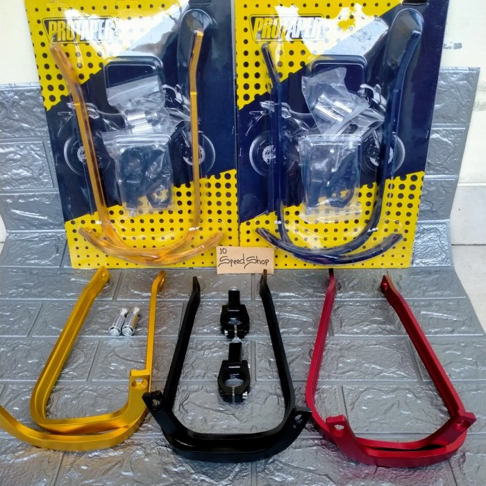 Foto Produk Handguard / Handgat Protaper Tulang besi Motor KLX CRF 150 DTRACKER - Hitam dari 10speedshop