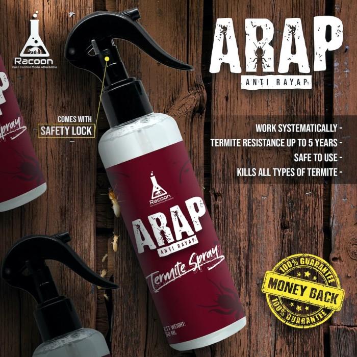 Foto Produk Obat Anti Rayap Spray ARAP / Racun Rayap Semprot Cair dari Racoon Official
