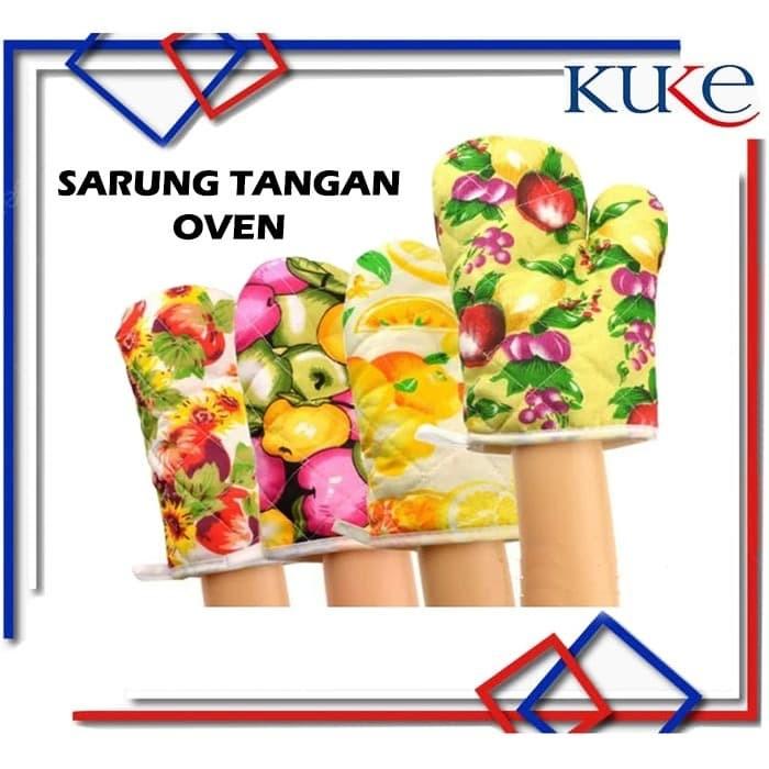 Foto Produk KUKE Sarung Tangan Oven / Sarung Tangan Anti Panas / Lap Tangan - RANDOM dari KUKE