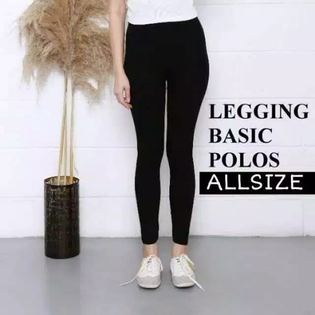 Jual Celana Legging Panjang Celana Legging Polos Celana Bahan Licin Wanita Jakarta Barat Valleries Tokopedia