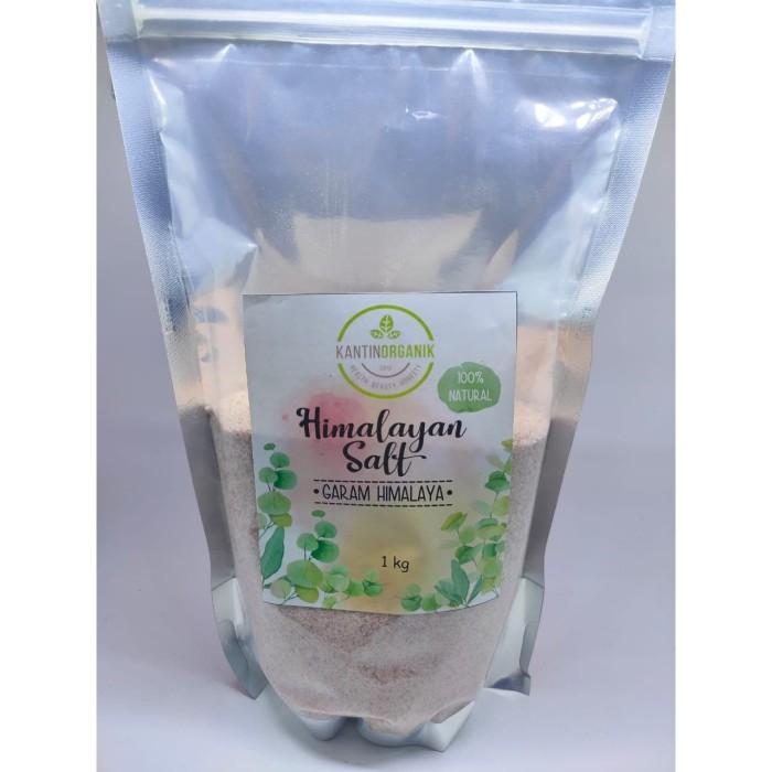 Foto Produk Garam Himalayan/ Pink Himalaya Salt 1Kg dari Kantin Organik