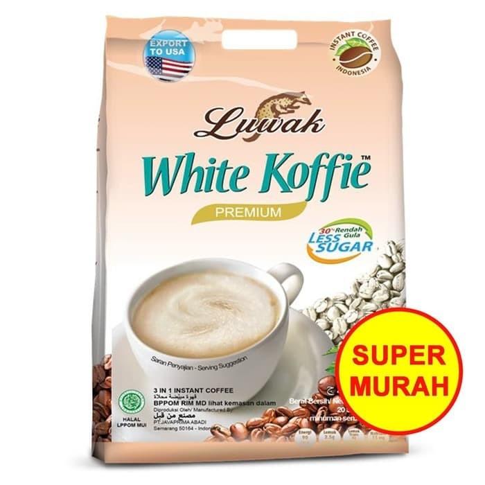 Jual LUWAK WHITE COFFEE PREMIUM 400GR | KOPI LUWAK | LESS ...