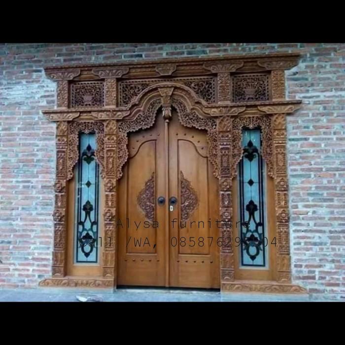 Jual Pintu Rumah,pintu Gebyok Jati, Pintu Minimalis,pintu Antik Jati,pintu  - Kab. Jepara - Alysa Furnitur | Tokopedia