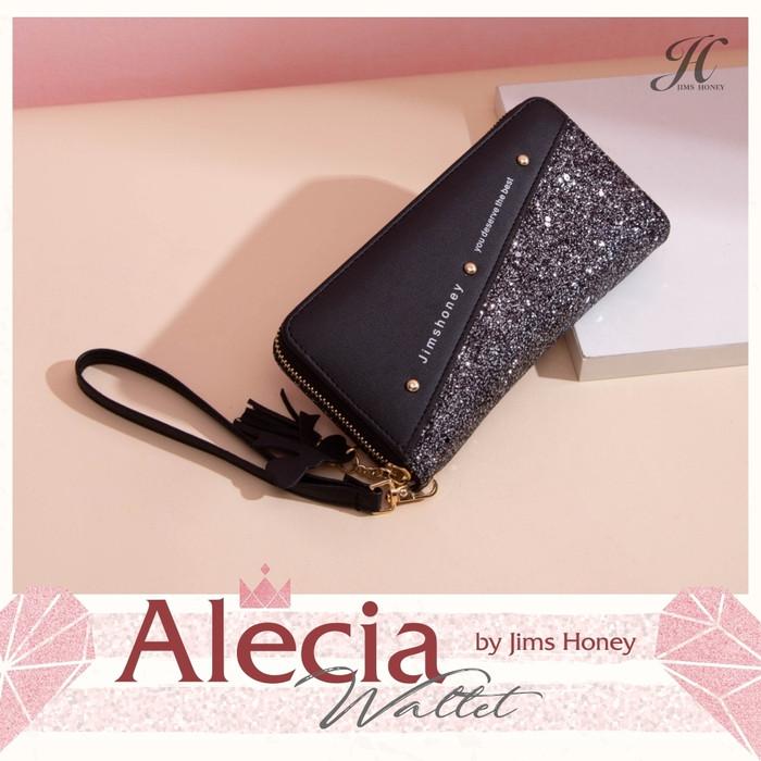 Foto Produk Jims Honey - Alecia Wallet Dompet Wanita New Arrival - Hitam dari JIMS HONEY OFFICIAL