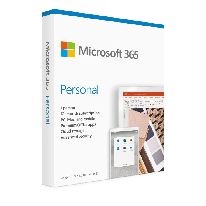 Foto Produk MICROSOFT Office 365 Personal 1 Year Original Box Sealed Resmi OBRAL dari Simply Home