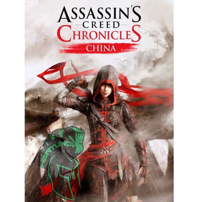 Jual Assassins Creed Chronicles China Dvd Kota Bandung