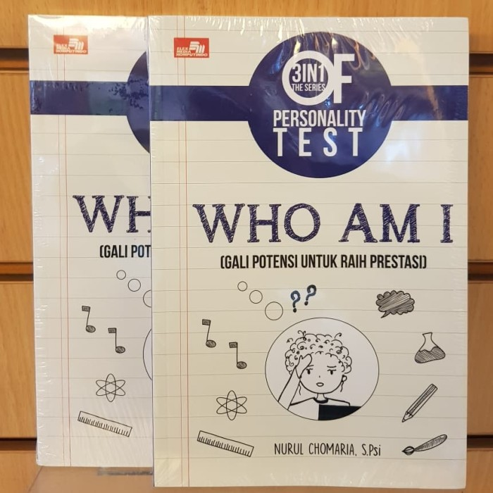 Foto Produk Buku 3 IN 1 The Series Of Personality Test : Who Am I dari Qeena Books Official