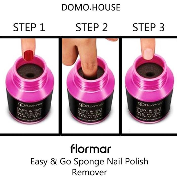Jual Flormar Easy Go Sponge Nail Polish Remover 75ml Jakarta Timur Rosemarie Gregory Store Tokopedia