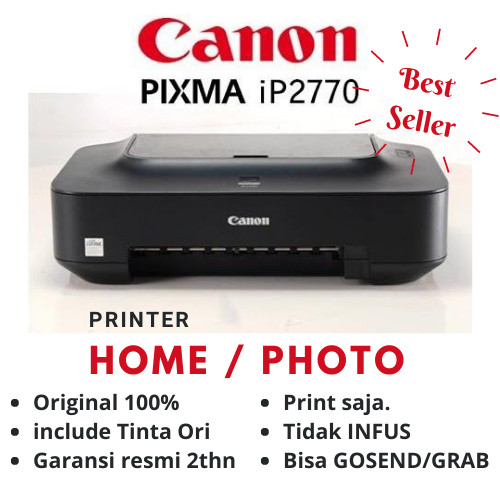 Foto Produk Canon IP 2770 Printer dari myprinter.id