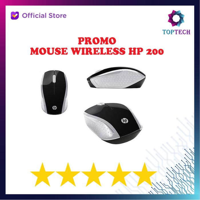 Foto Produk HP Wireless Mouse 200 - SIlver dari Top Tech