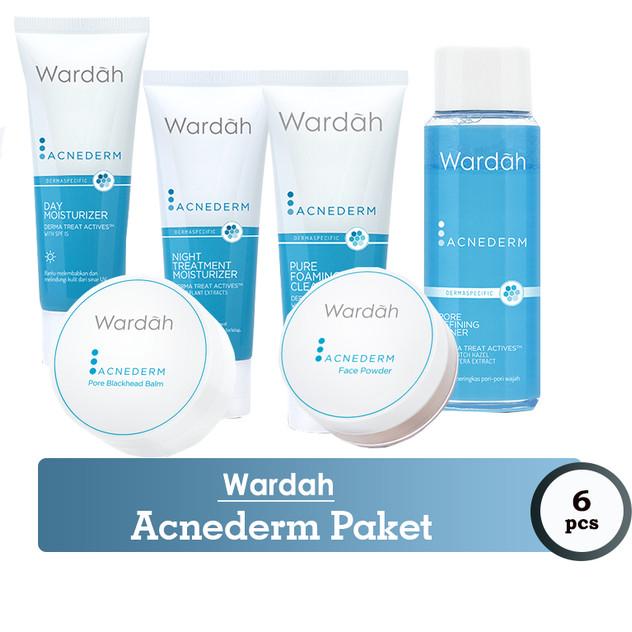 Skin Care Wardah Untuk Kulit Berjerawat Berminyak Dan Kusam Kerutan