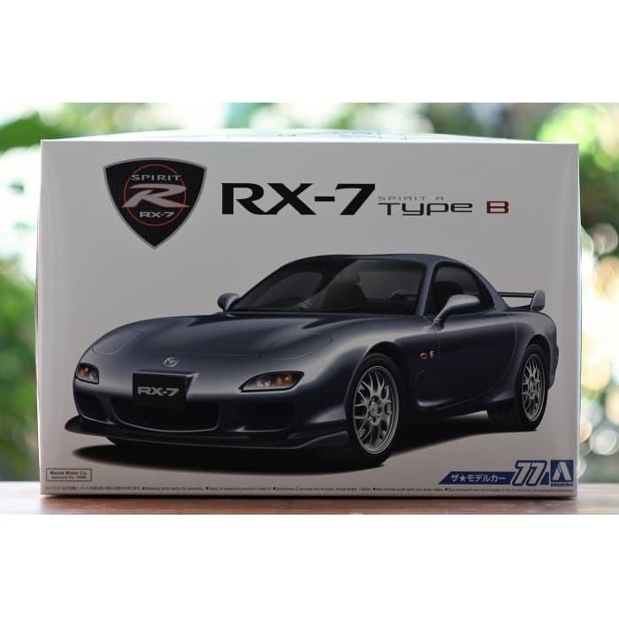 Foto Produk Model kit Aoshima 1/24 Mazda RX7 Spirit R Type B dari rumahmokit