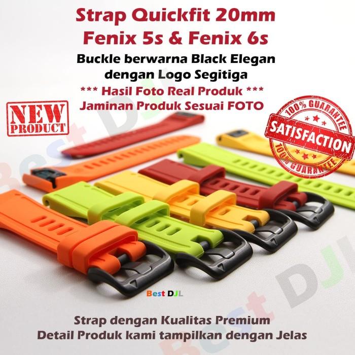 Foto Produk Garmin New QuickFit 20 Watch Band Strap Silikon for Fenix 5S 6S dari Best DJL