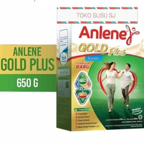 Jual Anlene Gold Plus Vanila 650 Gr 650gr Vanilla Susu Orang Tua Lansia Jakarta Utara Toko Susu Sj Tokopedia