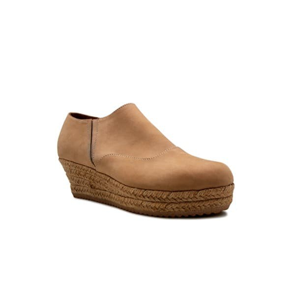 Foto Produk WEDGES Alyssa Espadrilles (ritsleting samping) - Beige 5cm dari Natana Shoes