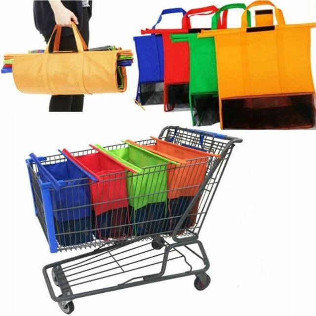 Foto Produk PAKET 4 PCS Tas Supermarket Shopping Trolley Bag Tas Belanja LipaT dari JABAR TEKNIK