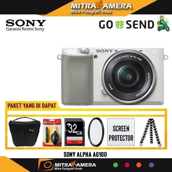 Foto Produk Kamera Sony Alpha A6100 kit 16-50mm Paket dari mitrakamera