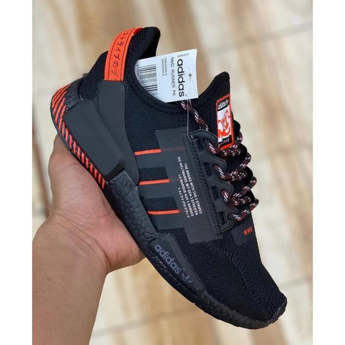 Jual Adidas Nmd R1 V2 Black Orange Jakarta Barat Sevel Shoes