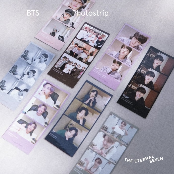 Jual Bts Photostrip Bangtan Unofficial Pc Merch Army Bts Photocard J Hope Jakarta Barat The Eternal Seven Tokopedia