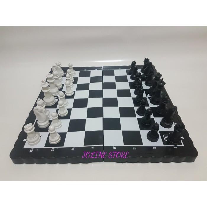 Foto Produk Catur Plastik Ukuran XL - Board Game - Mainan dari JolineStore