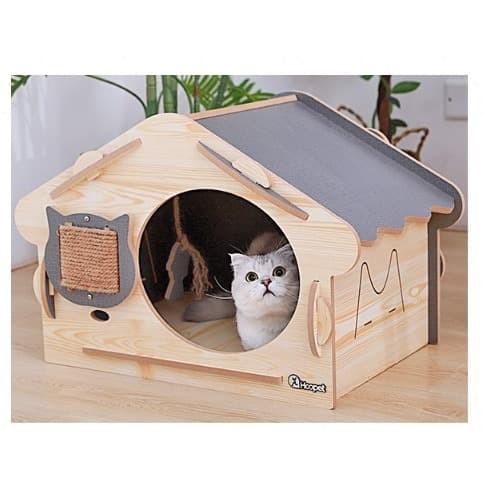 Jual Rumah Kucing Tempat Main Cat Cave Kandang Pussy ...