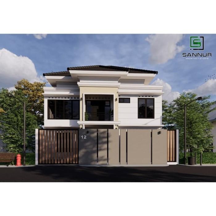 Foto Produk Produk Jadi Desain Rumah minimalis 2 lantai ukuran 8x11.5 meter dari Sannur Arsitek