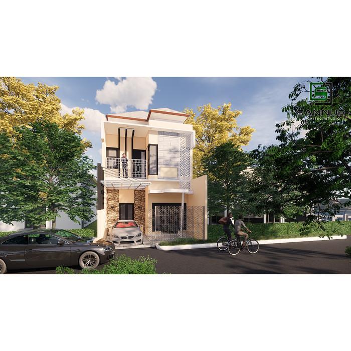 Jual Produk Jadi Desain Rumah Minimalis Lantai Ukuran 6x10 Meter Kab Kediri Sannur Arsitek Tokopedia