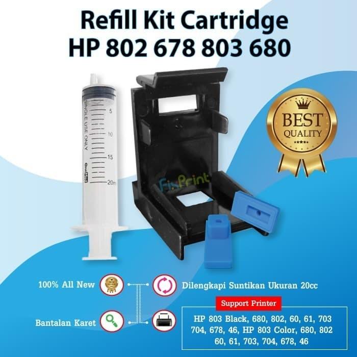 Foto Produk Penyedot Tinta Cartridge Catridge HP 802 678 680 803 46 60 703 704 901 dari FixPrint Jakarta