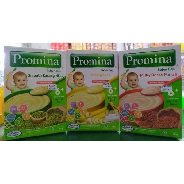 Jual Promina Bubur Bayi 120gr All Varian Kab Ponorogo Noerama Jaya Tokopedia