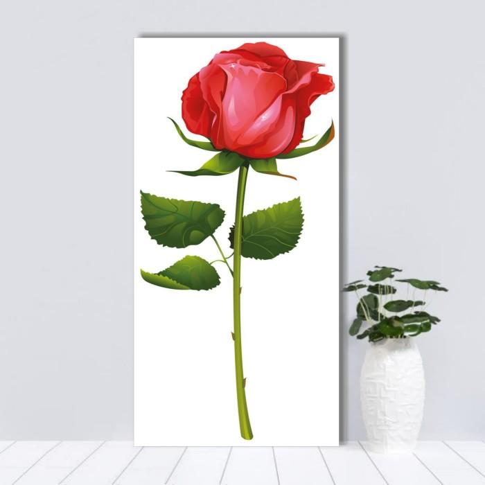 Jual Home Decor Poster Bunga Mawar Merah Hiasan Dinding Kayu Vintage Kota Bekasi Mall Idaman Tokopedia