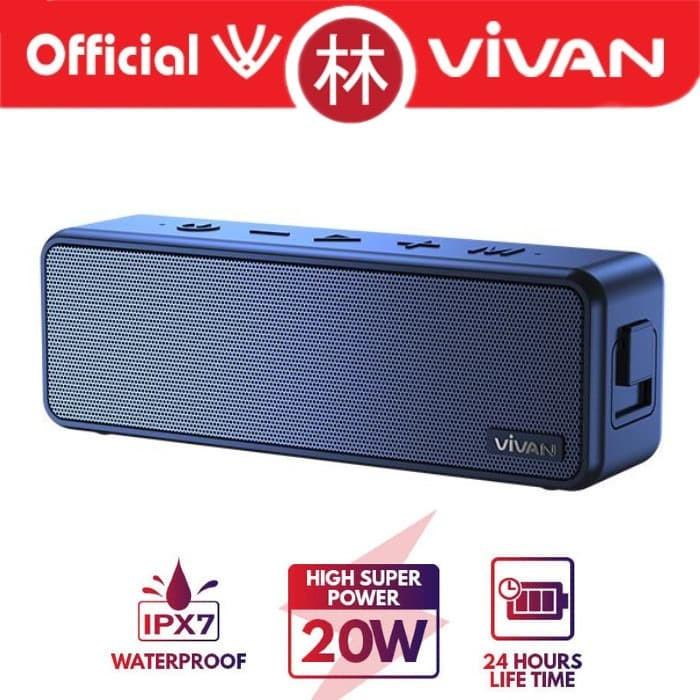 Foto Produk Vivan VS20 Waterproof IPX7 20W Ultra Bass Bluetooth Speaker dari Liem