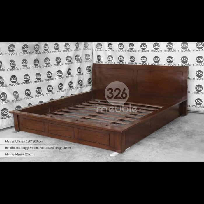 Jual Tempat Tidur Minimalis Dipan Jati Lesehan Tempat Tidur 180x200 Cm Kab Jepara Meuble326 Tokopedia