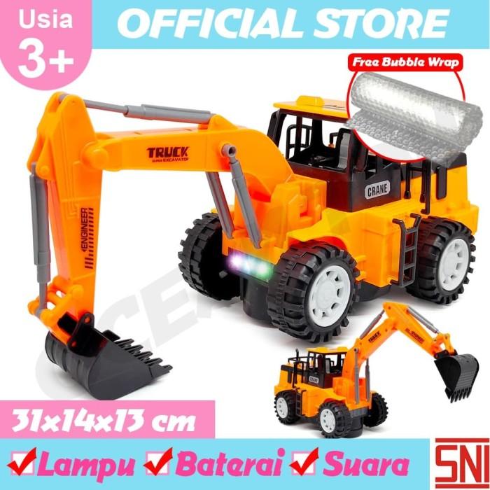 Jual Mainan Anak Mobil Konstruksi Excavator Batere Operate 0906 45 Kab Tangerang Ocean Toy Indo Tokopedia