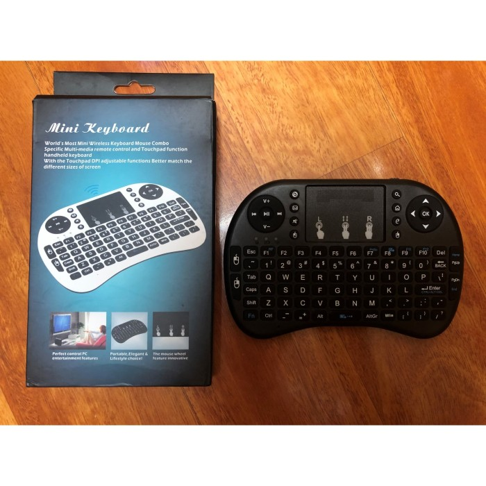 Foto Produk Keyboard Mouse Wireless dengan Touch Pad dari Ice__Shop0