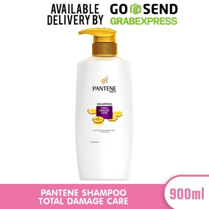 Jual Pantene Shampoo Total Damage Care 900ml Jakarta Barat Tukuse Tokopedia