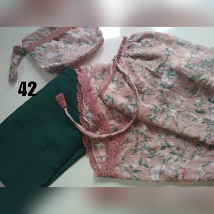 Foto Produk Mukena Telekung katun Silky Premium adem lembut ringan no box dari Pakaian Muslim FAIRIZKA